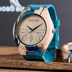 ceas mana lemn rasina