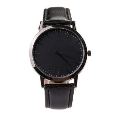 ceas minimalist negru