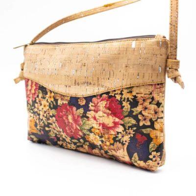 geanta de pluta cu flori