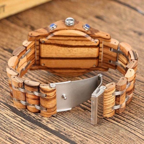 bratara ceas lemn