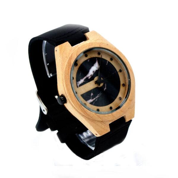 ceas de mana inedit din lemn