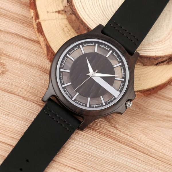 ceas de mana negru