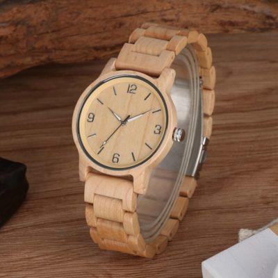 ceas mana lemn