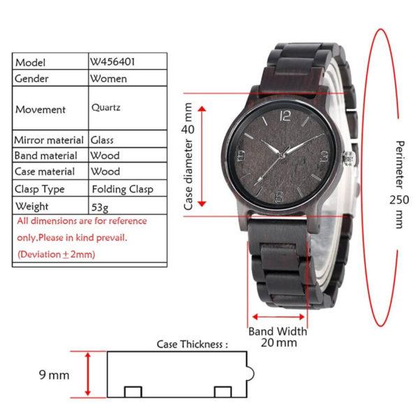 dimensiuni ceas
