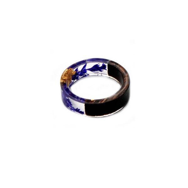 inel albastru