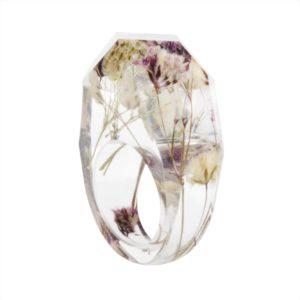 inel cu flori