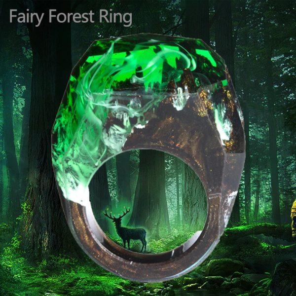 inel rasina verde