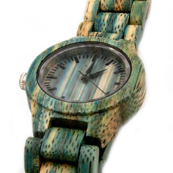 ceas de mana din lemn dama