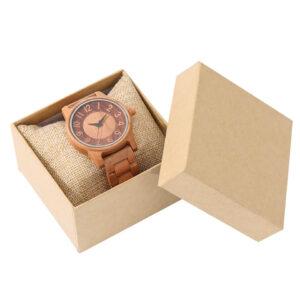 ceas de lemn cadou